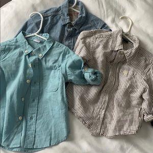 Toddler Button Down Shirts